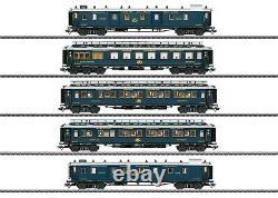 Marklin 42790 Simplon Orient Express Train Passenger Car Set Brand New