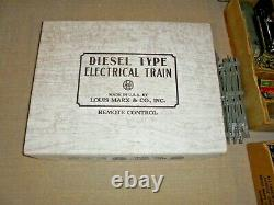 Marx Three Vintage Train Sets & Bunch Of Freight Cars O Gauge