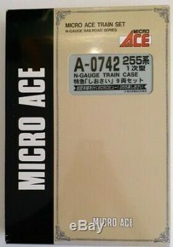 Micro Ace A-0742 255 Series 9-car set, N Gauge model train