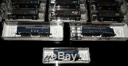 Micro Trains 50 Car State Set with FT A & B Locomotives & Caboose N-Scale