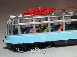 N Scale Fleischmann 7410 Electric Rail Car Glass Train DB 491 w Passengers