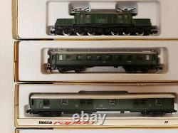 N scale Rapido Arnold Trains Deutsche Line 4 cars 1 Locomotive
