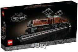 NEW LEGO CREATOR 10277 Crocodile Locomotive UPS SHIPPING