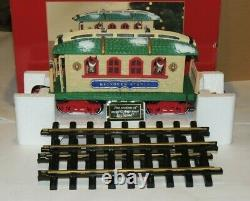 New Bright Dillards Reindeer Stable Train Car In Box Holiday Express