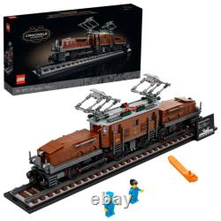 New SEALED Lego Train set 10277 CROCODILE LOCOMOTIVE in Hand BRAND NEW IN BOX
