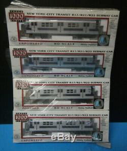 New York City Transit R17/21/22 Subway 4 car Train, HO Walthers Proto 1000