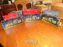 Nice 1950 American Flyer Train Set with Locomotive, Cars, Track, Etc. Org. Box