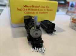 Nn3 Lot Of Loco, cars, Track, transformer And Tool, Micro-Trains. Free Shipping