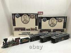 O Lincoln Funeral Train + Add-On Cars