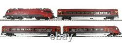 PIKO 58131 Railjet Train Set Rh 1216 Electric Locomotive + 3 Cars ÖBB V
