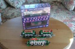 RMT Christmas Train SET Engine & 4 RMT Peep Passenger/Baggage/Observation Cars