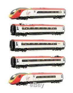 Rapido / Revolution Trains'n' Gauge Virgin Class 390'pendolino' 5 Car Set