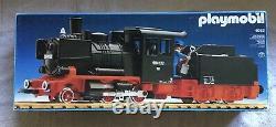 Rare 1980 Vintage Playmobil 4052 Train Locomotive & coal Car with original box