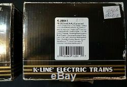 Rock Island K-Line K-28841 MTH Streamline Golden Rocket Passenger Car Train Set