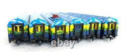 Roco HO AC 69740+45900+45167+45168 Digital Touristic Train set BR103+6 cars new