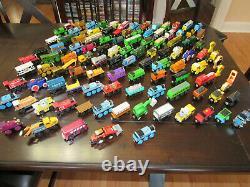 Thomas & Friends Wooden Railway Train Lot 100+ Pieces Locomotives Cars Vehicles
