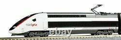 USED KATO N scale TGV Lyria 10-Cars Set 10-1325 Model Train Railway SNCF SBB