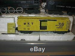 VINTAGE 1950s AMERICAN FLYER TRAIN SET#326 NYC Engine & Tender & 6 Car Frt Set