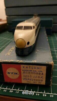 VINTAGE HO BRASS KTM Katsumi Tokaido Shinkansen Bullet Train, end car (powered)