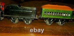 VINTAGE JOY LINE TRAIN SET With ENGINE, TENDER, CARS