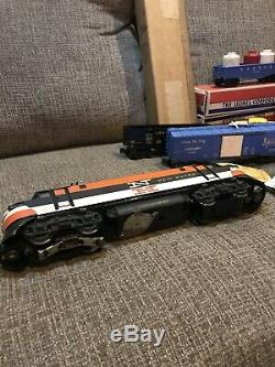 Vintage Lionel 2279W New Haven Freight Train Car Toy Set withBox 2350 Engine 6424