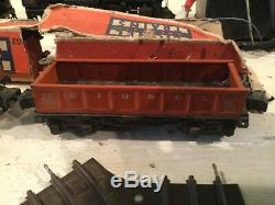 Vintage Lionel Train Set with a 225 Engine Plus 4 cars and Track
