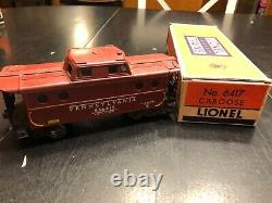 Vintage Lionel Trains Post-War Lot withBrick Boxes, 681 Locomotive, 13 Cars, 1950s