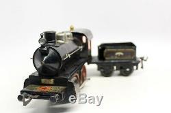 Vintage Pre-war Bing I-48 1-gauge Passenger Train Set With Red Cross Car