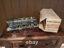 Vintage Prewar Lionel #255E Locomotive 0-Guage train set with 5 cars/accessories