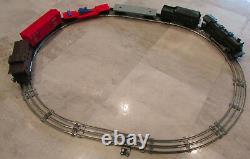 Vtg Lionel Lines 242 Train Locomotive Tender Box Car Flat Bed Caboose Set of 6